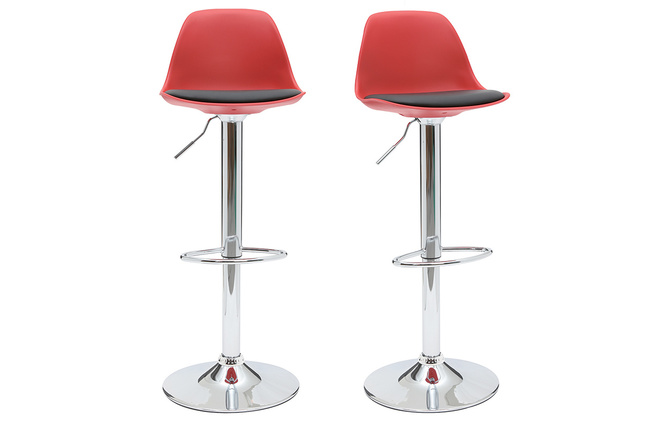 Sgabelli bar rosso: unico bar sgabello u2014 foto stock © magraphics