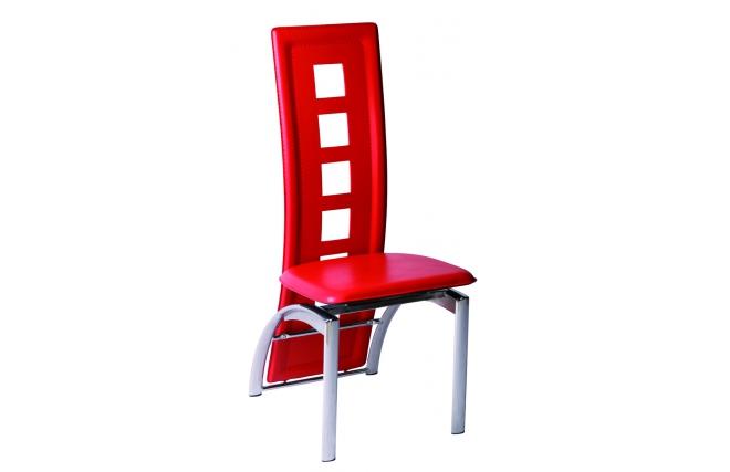 Gruppo di 4 sedie da cucina / sala da pranzo colore rosse Jackie ( Il ...