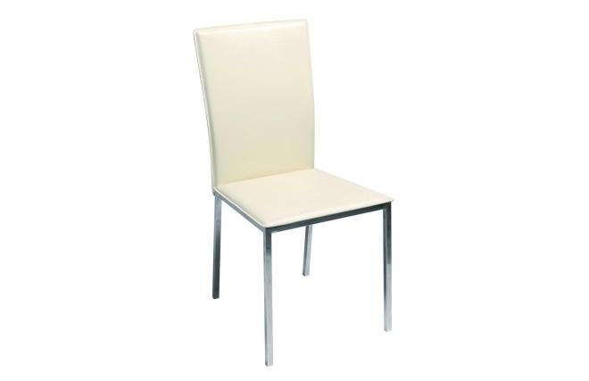 Gruppo di 4 sedie da sala da pranzo cucina inola design beige miliboo - Sedie moderne sala da pranzo ...