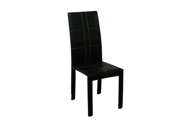 Gruppo di 4 sedie sala da pranzo cucina design in pelle for Sedie cucina pelle