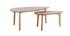 Gruppo di due tavolini quercia ARTIK