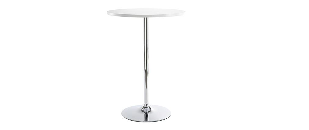Il tavolo da bar JAMES bianco