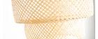 Lampada da soffitto bohème in bambu' WILD