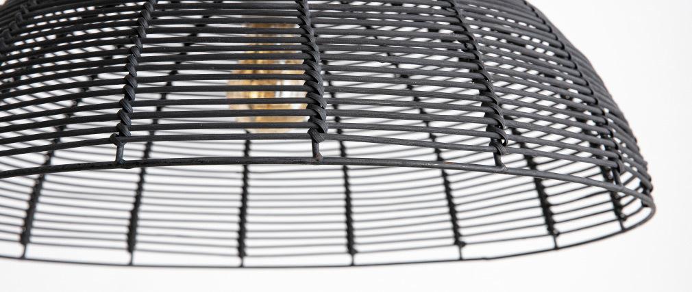 Lampada da soffitto design in bambu
