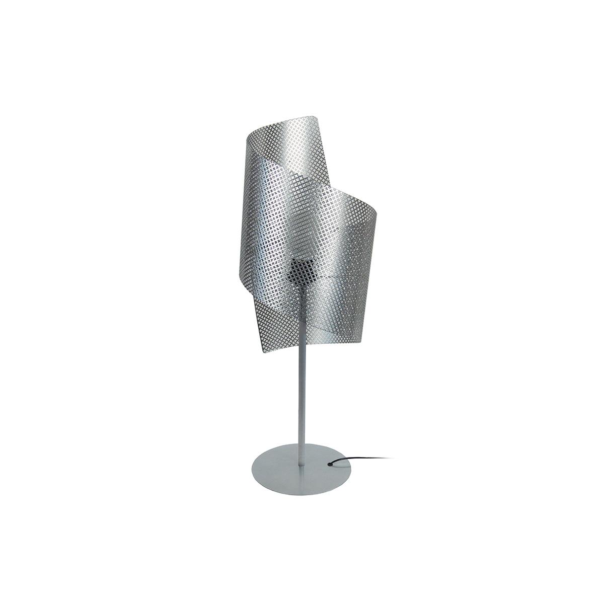 Lampada da tavolo design perforata CLOVER