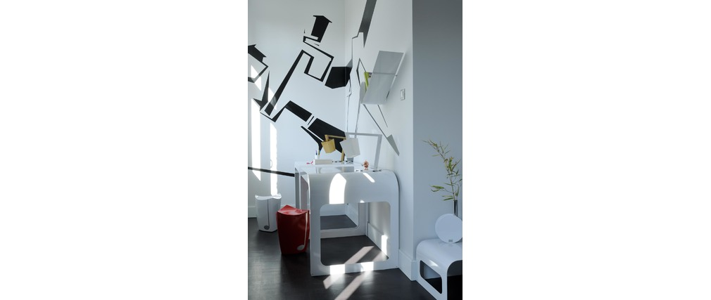 Lampada Design CROSSFADE Magenta