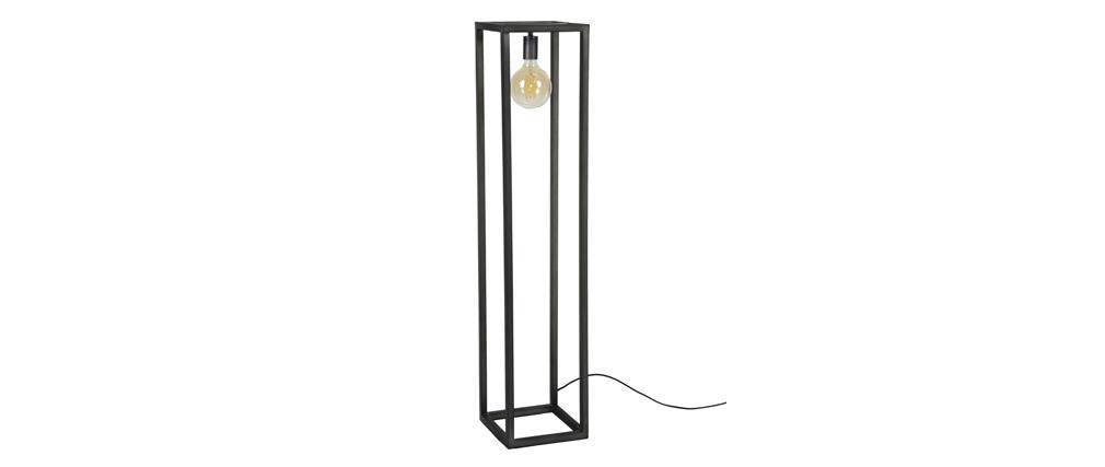 Lampada design in metallo quadrato COLUMN