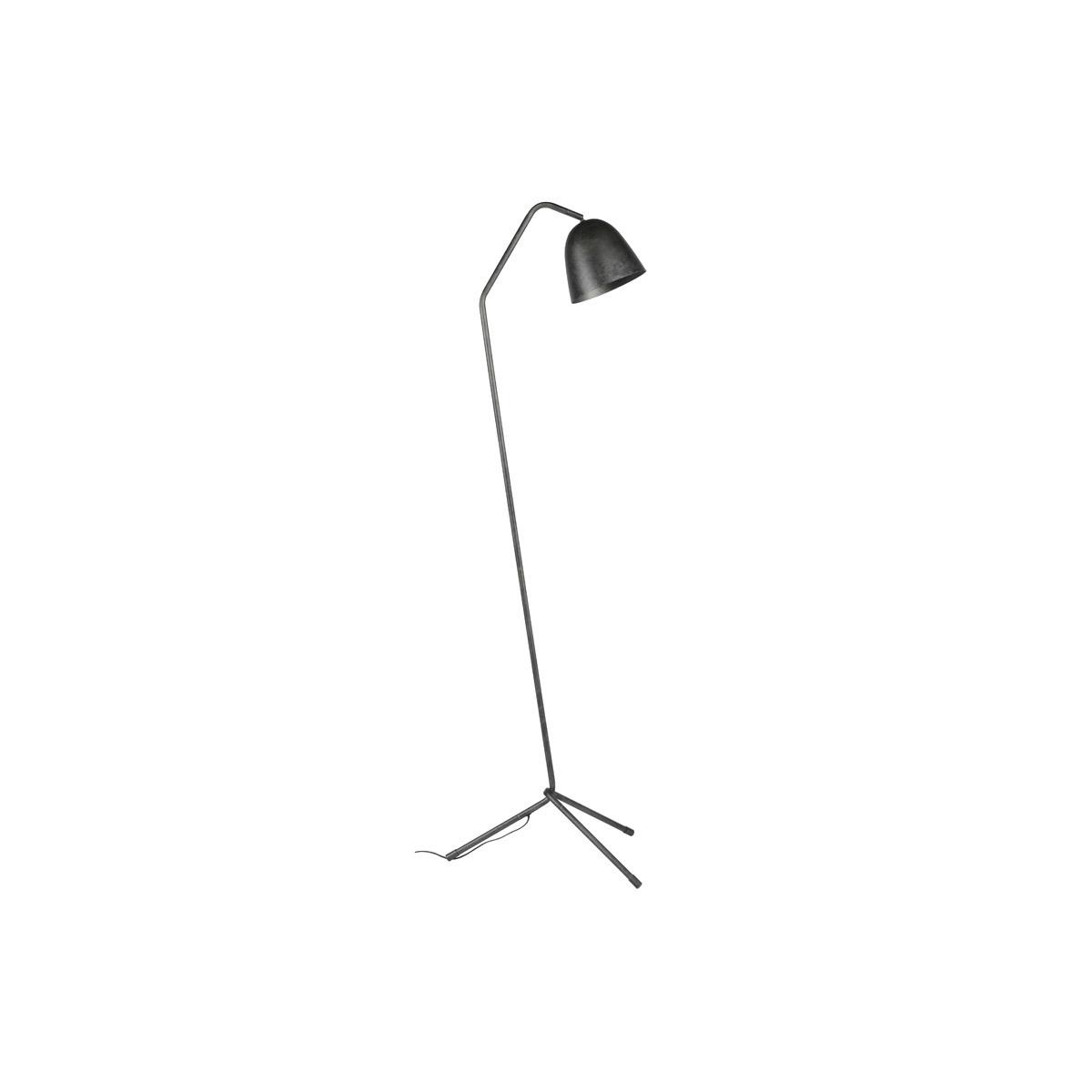 Lampada design treppiede in metallo antracite TRYO