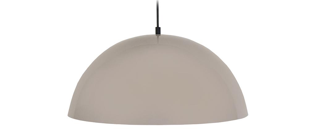 Lampadario a forma di semi-sfera design Talpa POG