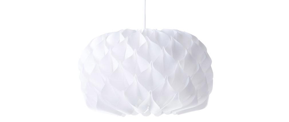 Lampadario design bianco RUCHE
