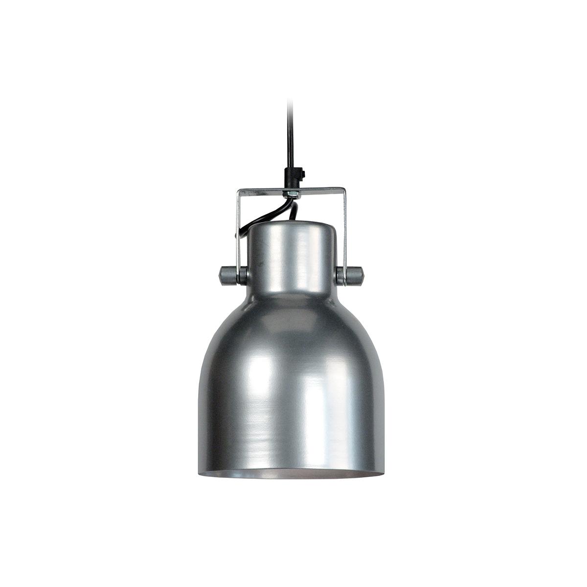 Lampadario design in acciaio Cromato CITY