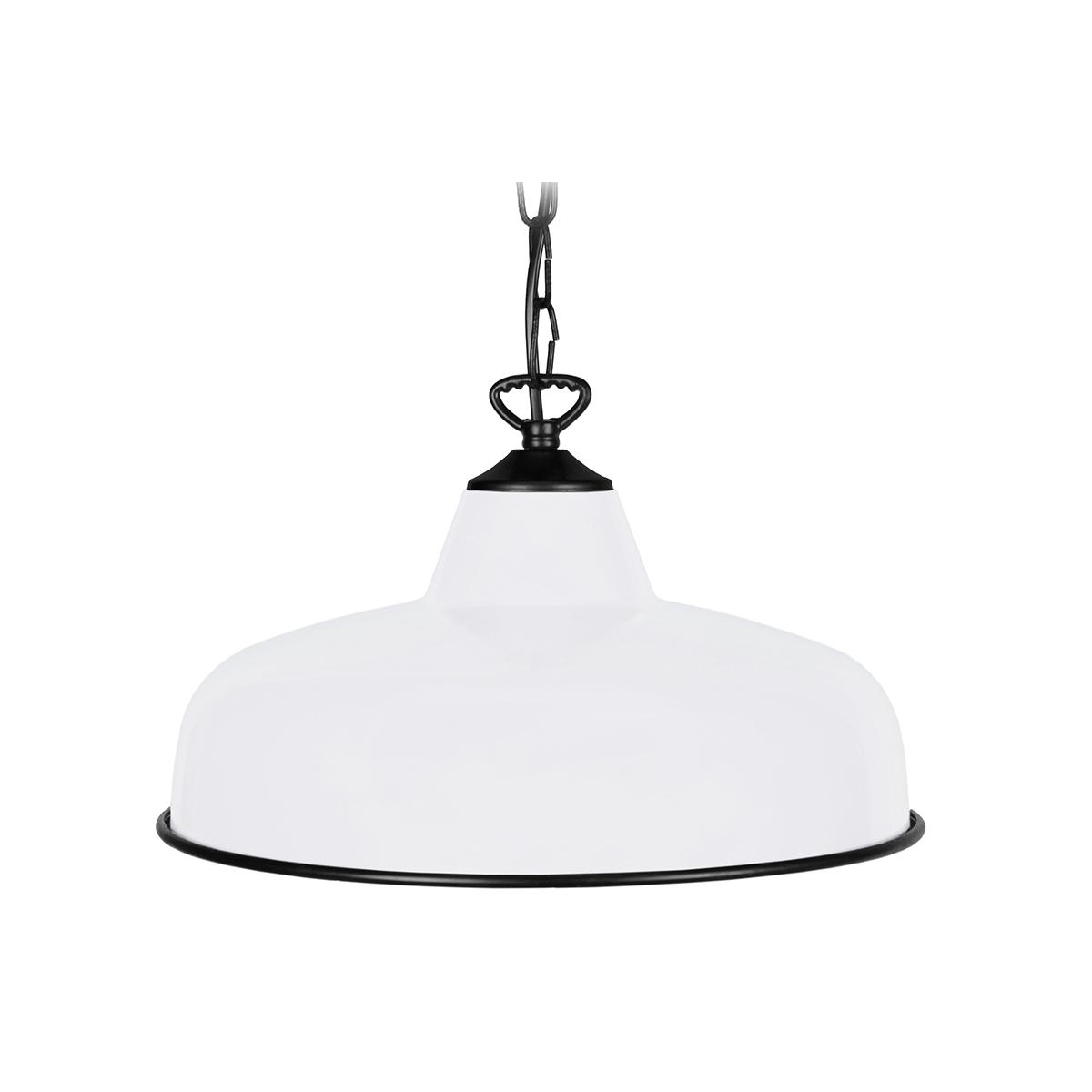 Lampadario design in metallo Bianco VINTI
