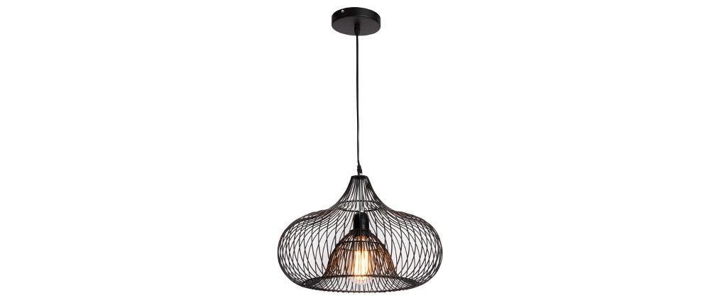 Lampadario design in metallo COROLLE