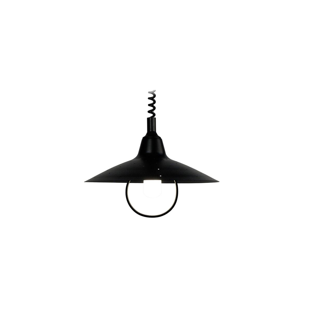Lampadario design in metallo Nero OLSON