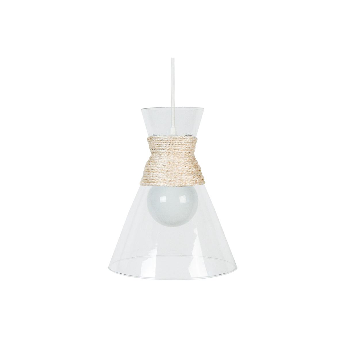 Lampadario design in vetro CONE