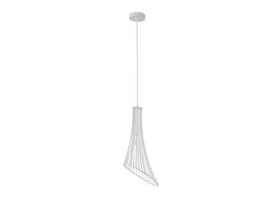 Lampadario di design, in metallo, colore: Bianco, modello: MARYLIN