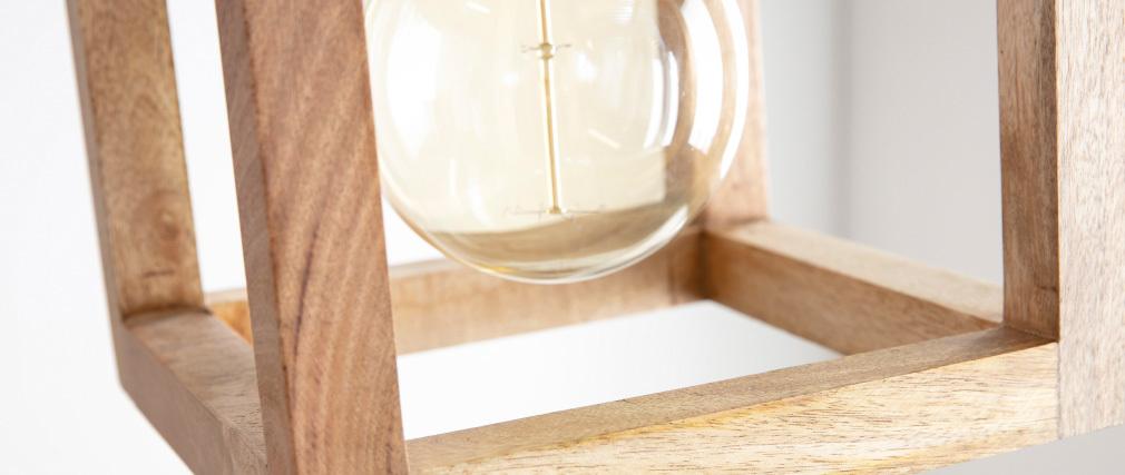 Lampadario in legno di mango BOSCO