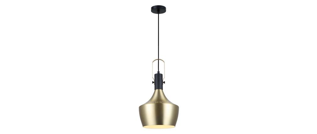 Lampadario in metallo dorato 25 cm TUBAE