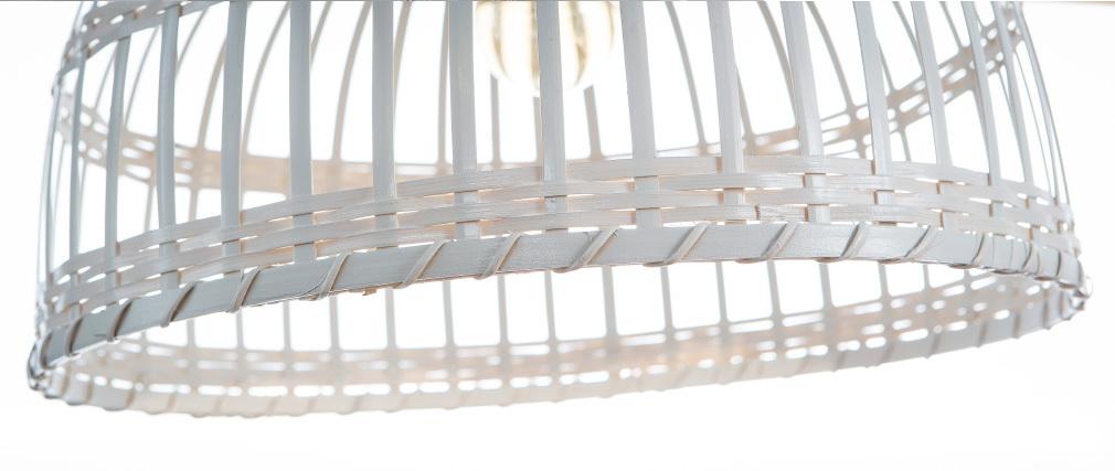 Lampadario in stile bohémien bambù 40 cm EDEN