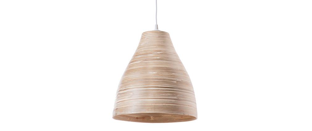Lampadario in stile bohémien in bambù 30 cm SELVA