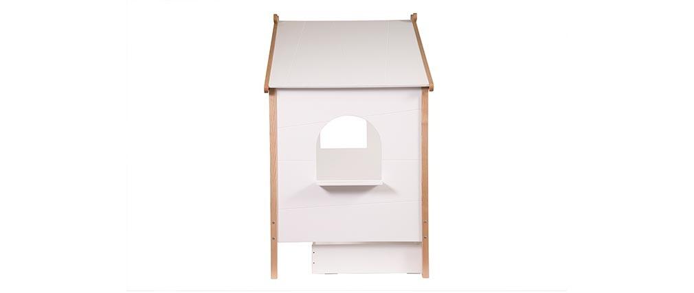 Letto a capanna per bambino con cassetti design BIRDY