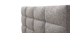 Letto da adulto 160x200 cm Grigio chiaro EMERY