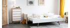 Letto estraibile bianco e legno 90 cm SIAMOI