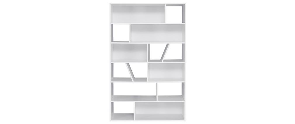 Libreria design bianca AZTEQUE
