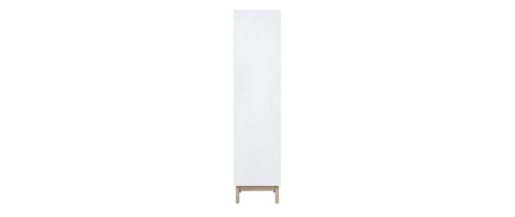 Libreria design Bianco con 4 ripiani LEENA