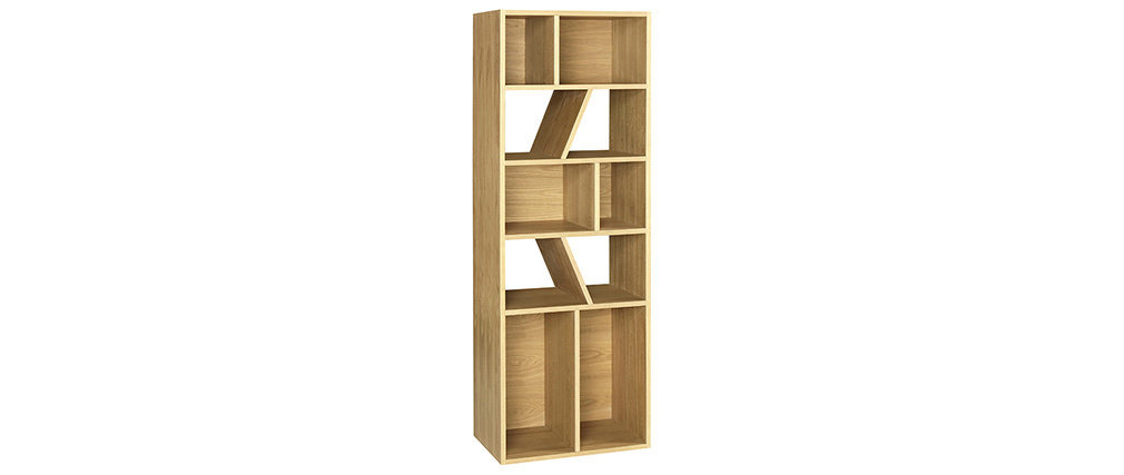Libreria design frassino 60 cm AZTEQUE
