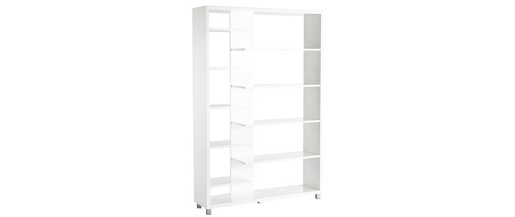 Libreria design laccata in bianco VIXY