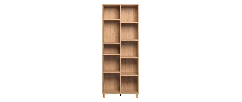 Libreria design rovere JIM