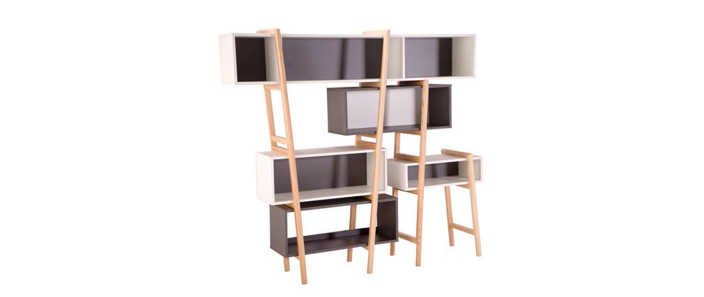 Libreria design WOOD TANG  COMPO 5