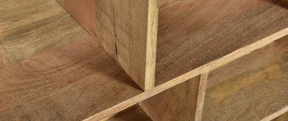 Libreria divisoria in legno massello di mango RUPAH