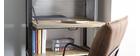 Libreria in legno massiccio e metallo stile industriale ATELIER