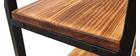 Libreria industriale metallo e legno ARISTOTE