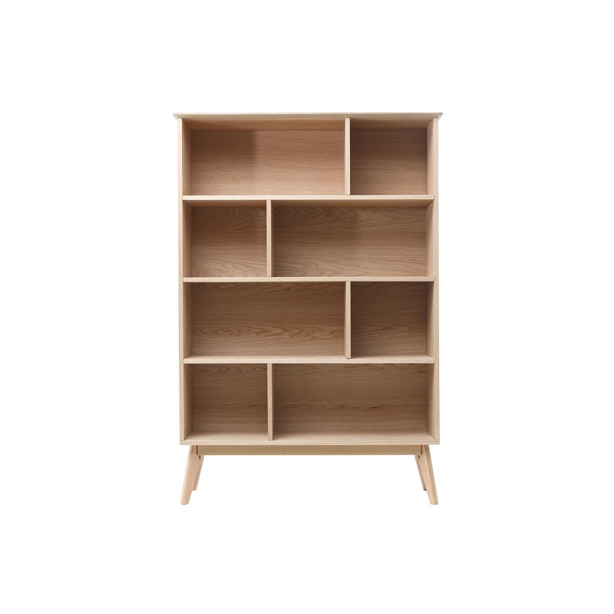 Libreria scandinava quercia 165cm INGRID