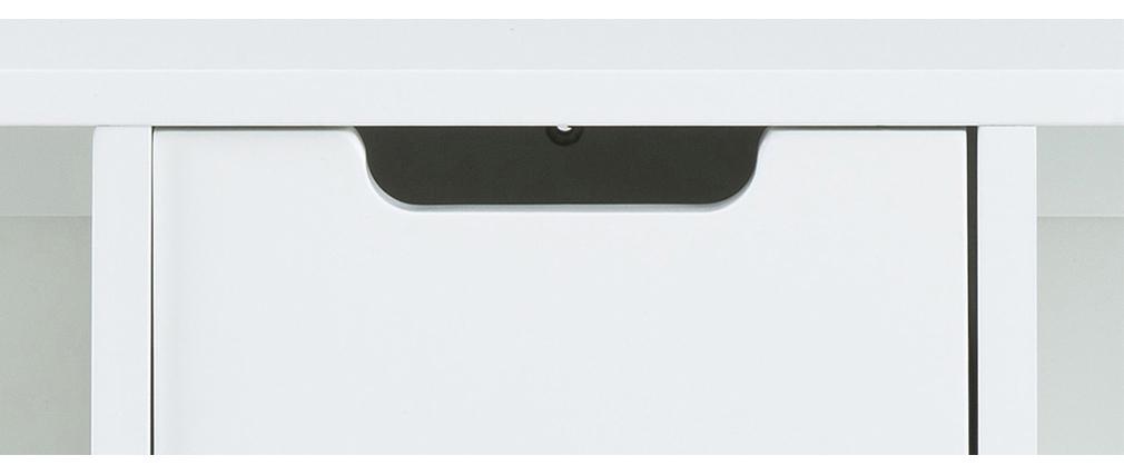 Mensola da parete bianca di design SNOOP