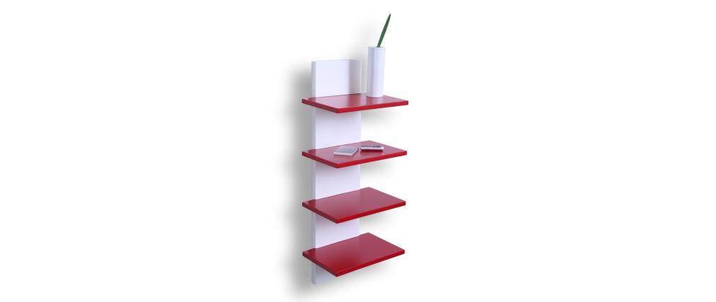 Mensola design rossa GRAZIA - Miliboo