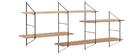 Mensola murale XL legno BRIDGE