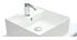 Mobile da bagno con vasca, specchio e cassetti bianco LOTA