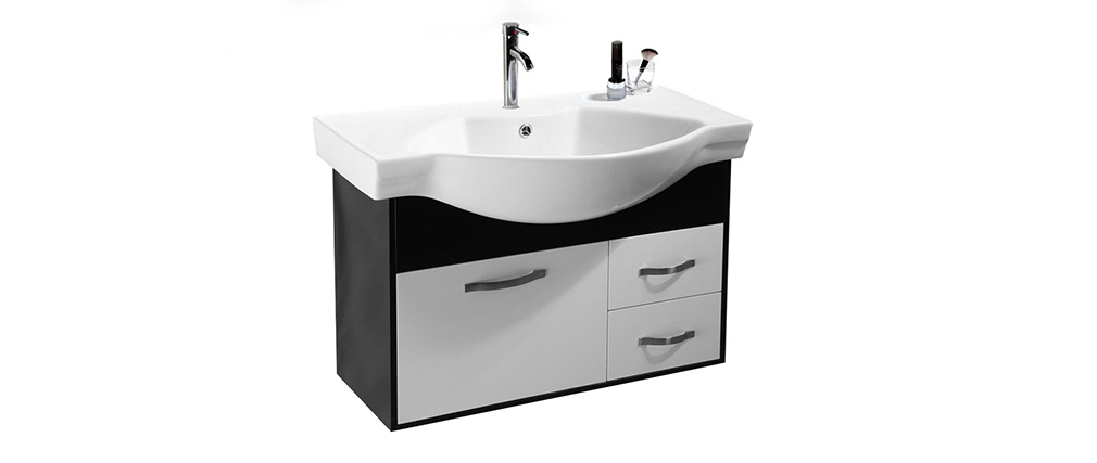 Mobile da bagno skyler : lavabo, mobile sottovasca,mensola e ...