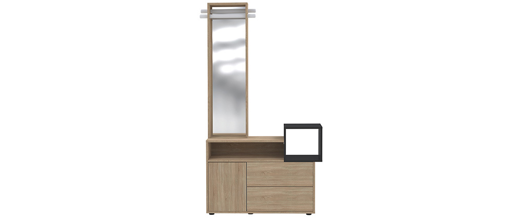 Mobile da ingresso con specchio e cassetti KOLN