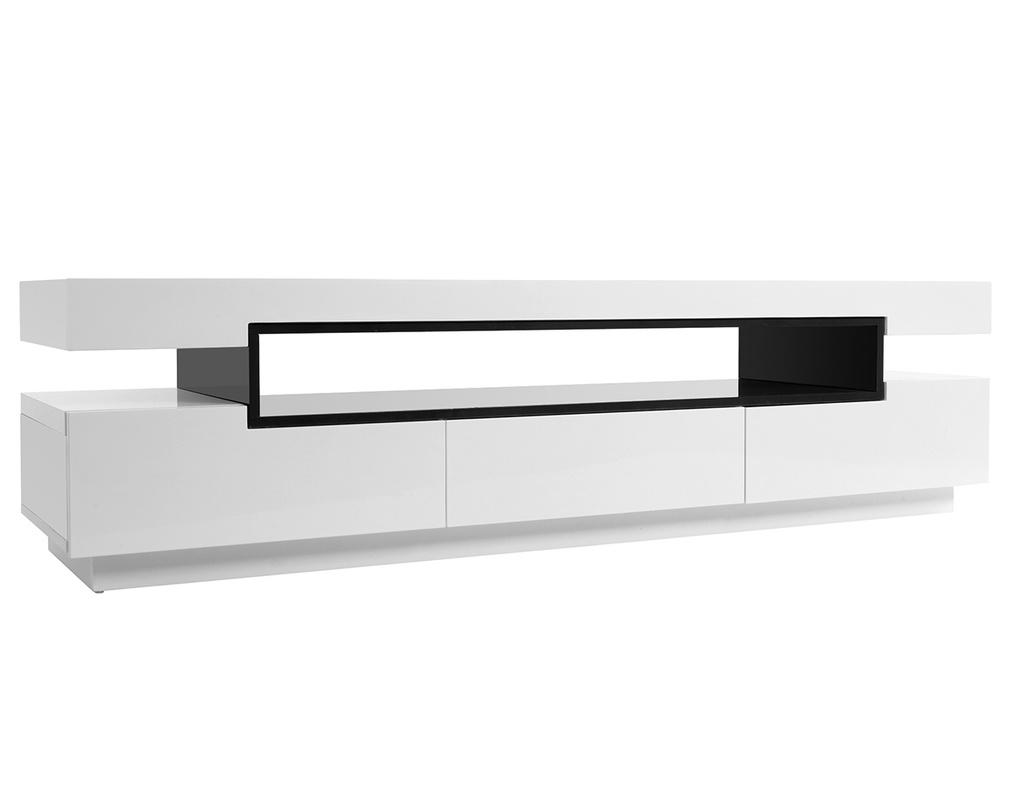 Miliboo Mobili Tv.Mobile Porta Tv Design Laccato Bianco Livo Miliboo