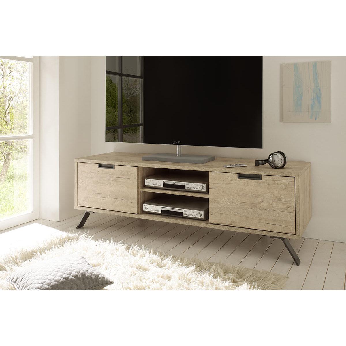 Mobile TV design 156cm quercia ORIGIN