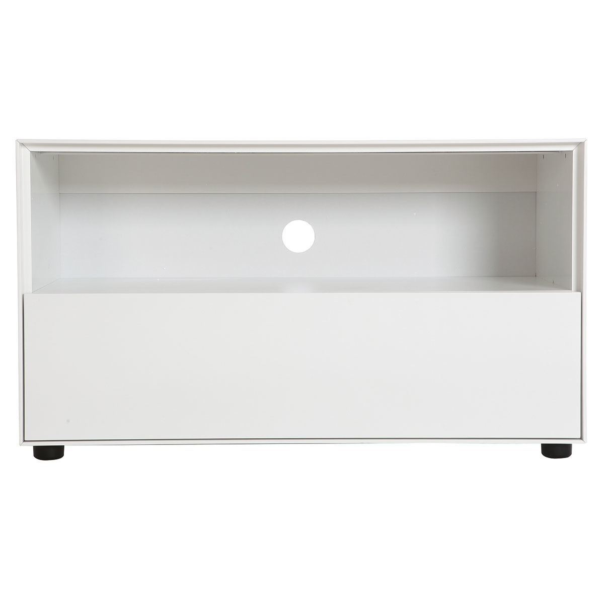 Mobile TV design 90cm bianco opaco 1 cassetto MARK