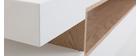 Mobile TV design bianco e legno LIVO
