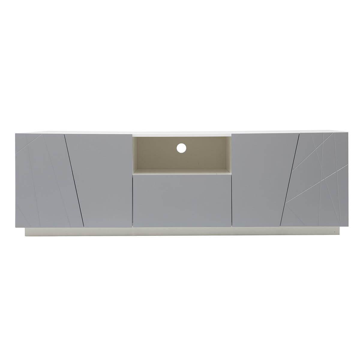 Mobile TV design grigio opaco ALESSIA