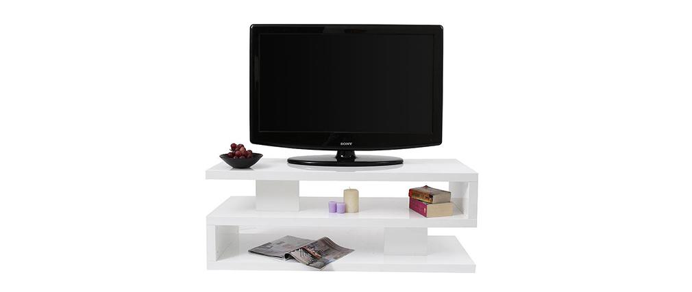 Mobile TV design laccato bianco NEXY