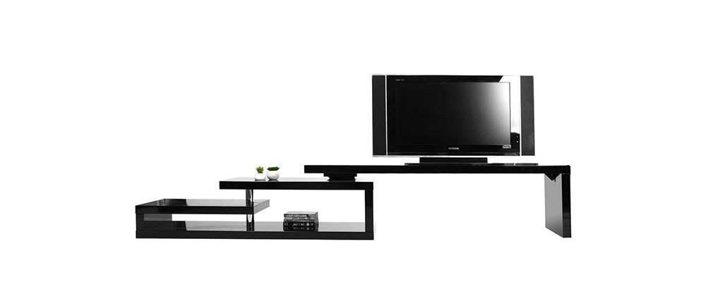 Mobile TV design laccato nero girevole MAX V2